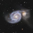 M51 and NGC 5195,                                Lee B
