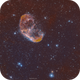 Crescent Nebula in SHO,                                John