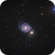 The Whirlpool Galaxy (M51),                                Stacey Williams