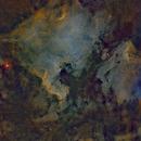 NGC7000 SII-Ha-OIII,                                mads0100