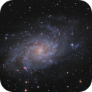 Messier 33,                                Frank Iwaszkiewicz