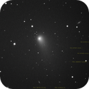 IC1228 and comet C/2014 S2 PanSTARRS!! And some faint PGC's. Unguided.,                                Juan Pablo (Obser...