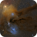 Antares, Rho Ophiuchi, M4, and nebulae,                                tommy_nawratil