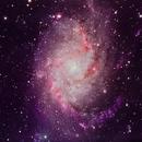 M33:  A Beautiful Galaxy,                                David Redwine