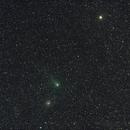 Comet Garradd C/2009 P1 - 15min trail, Messier M71 - NGC6838 Sagitta Globular Cluster, Gamma Sagitta,                                Geoff Scott