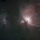 Orion Nebula and Running Man,                                HelenUsher