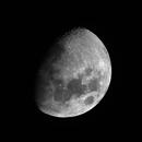 Gibbous Moon, August 2017,                                Jim Lindelien
