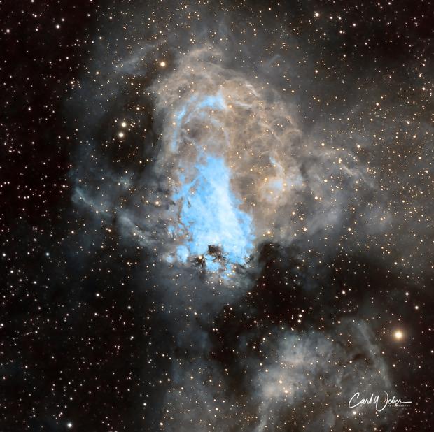 M 17 The Omega Nebula,                                Carl Weber