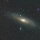 M31 RGB with ASI183MM/Samyang 135,                                Ben