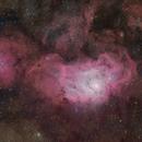 The Lagoon Nebula in HaRGB,                                Matthew Sole