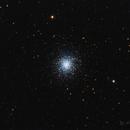 M13 - Hercules globular cluster - single frame,                                Álmos Balási