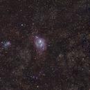 M20 Trifid Nebula & M8 Lagoon Nebula,                                Hado