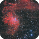 Flaming Star Nebula HRGB,                                Alessio Pariani