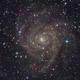 The hidden galaxy IC 342,                                Christoph Lichtblau