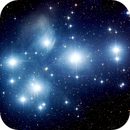 Messier 45 - Open Star Cluster also known as the Pleiades,                                Insight Observatory