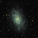 Messier 33,                                Karoass