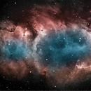 Soul Nebula in Narrowband,                                Mike