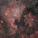 NGC7000 & IC5070 - widefield,                                Álmos Balási