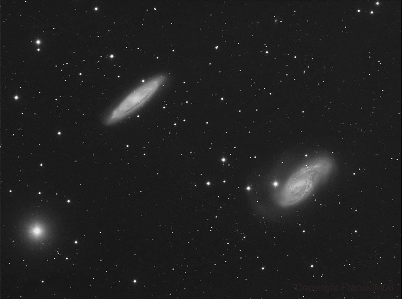 M66 & M65,                                FranckIM06