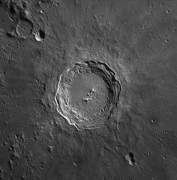 Crater Copernicus on 03.04.2020,                                Henning Schmidt