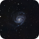 M101 - Pinwheel Galaxy,                                NightBear