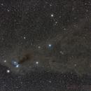 Corona Australis and its Molecular Cloud,                                Gabriel R. Santos (grsotnas)