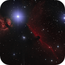 IC 434 - NGC 2024 / Horsehead and Flame Nebula,                                Falk Schiel