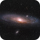 M31 Andromeda Galaxy,                                nerdybeardo