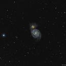 Spring twilight M51,                                Olli Arkko