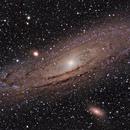 M 31 - Andromeda Galaxy (RGB),                                Calvin Goodrich