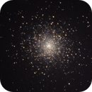 """Messier 15, My first globular cluster trial using my 8""""SCT,                                Björn Arnold"""