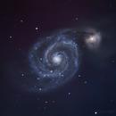 M51 Whirlpool Galaxy,                                megoblocks