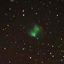 M27 Dumbbell Nebula,                                Dylan Woodbrey