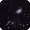NGC4725 and NGC4747/4712 in Coma Berenice - Large Field,                                Arnaud Peel