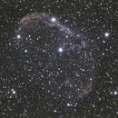 Crescent Nebula NGC 6888 - RGB,                                Rodolphe Goldsztejn