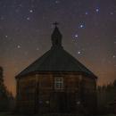 Big Dipper and church,                                Łukasz Żak