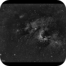 Cave Nebula Sh2-155 Ha,                                  Göran Nilsson
