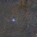 Pleiades (M 45) at 70mm FL,                                Craig Emery