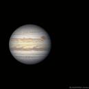 Animation Jupiter et la Grande Tâche Rouge - 27/08/2019 - Sans Morphing,                                BLANCHARD Jordan