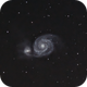 M51 - Whirlpool Galaxy,                                Dominic