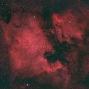 North American and Pelican Nebula - Bortle 7/8,                                Mike Lethbridge