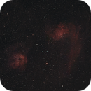 IC410 and IC405 (Flaming Star and the Tadpoles) HaRGB,                                JNeil4