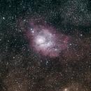 Lagoon Nebula,                                bobfang