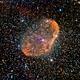 The Crescent Nebula - NGC 6888,                                Richard Blackshaw
