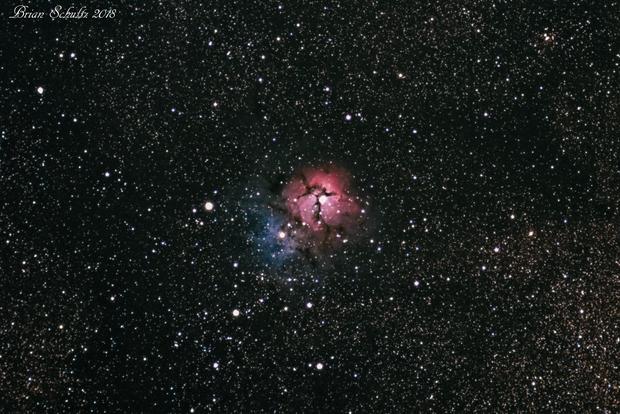 Triffid Nebula -  M20,                                  Chief