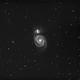 M51 Luminance - Whirlpool galaxy,                                Roberto Botero