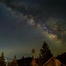 Milky Way over Lake Tahoe,                                Kapil K.