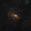 Bubble Nebula,                                Robert Browning