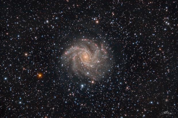 NGC 6946 - The Fireworks Galaxy,                                Matt Harbison