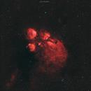 NGC6334 - Cat's Paw Nebula,                                Lucas Magalhães